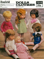 dolls clothes knitting patterns