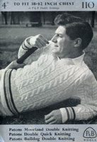 vintage men's knitting patterns from the Retro Knitting Company