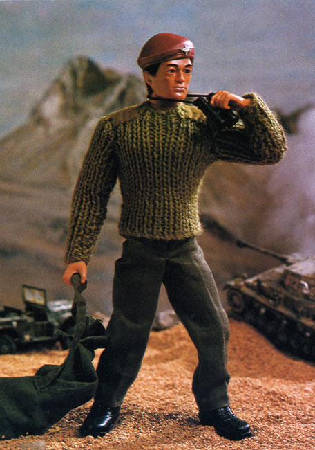 Action Man and Barbie Vintage Knitting Patterns from The Vintage Knitting Lady