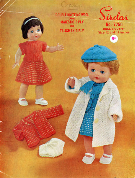 Sirdar Knitting Patterns For Dolls Clothes : Dolls Clothes knitting pattern