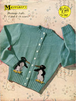 vintage childrens cardigan
