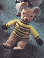 vintage teddy knitting patterns
