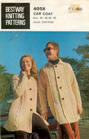 vintage aran knitting patterns
