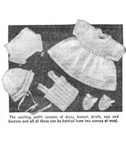 vintage knitting pattern for Sweet Sue doll