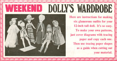 sindy sewing patterns