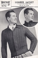 vintage mens jacket 1940s vintage knitting patterns