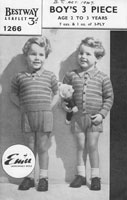 vintage little boys set 1947