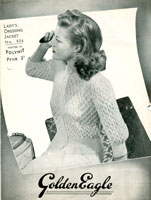ladies bed jacket knitting patterns