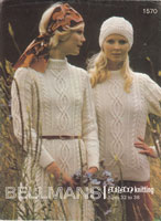 ladies aran knitting patterns