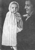 vintage baby knitting pattern from 1940s
