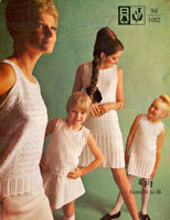ladies vintage summer top knitting patterns