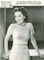 ladies vintage knitting patterns