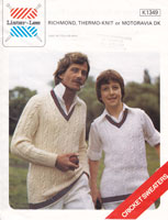 cricket jumper knitting pattern 1980s