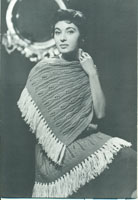 vintage 1950's stole knitting pattern chic fifties styling