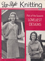 vintage ladies knitting patterns 1960s