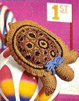 vintage knitting pattern for tortoise