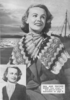vintage ladies shwal knitting patterns