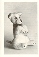 vintag toy dog knitting pattern