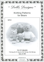 teddy bear clothes knitting patterns