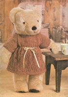 vintage knitting pattern for teddy bears