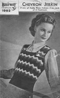 vintage ladies tank top knitting patterns