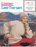 vintage ladies fair isle knitting pattern 1970