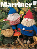 vintage toy knitting pattern