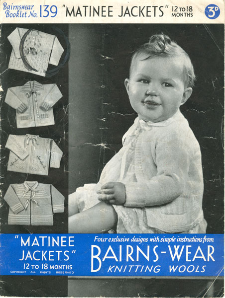 Baby's matinee jacket/coat : Pattern Requests