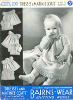 vintage baby dress patterns