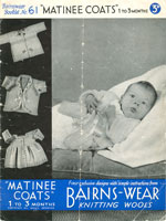 vintage matinee coat knitting patterns