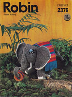 vintage elephant crochet toy patterns