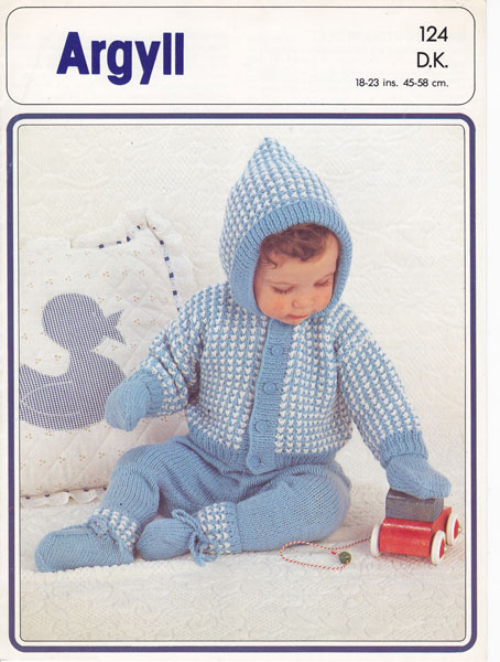 Free Knitting Pattern: Jiffy® Hooded Bobble Baby Blanket