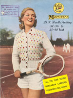 vintage summer cardigan knitting patterns