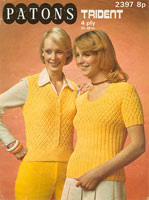 vintage summer knitting patterns