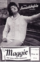 ladies aran sweater knitting pattens