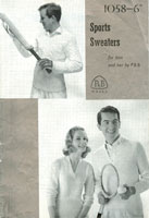 vintage cricket jumper knitting pattern