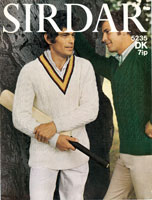 cricket jumper knitting pattern