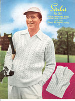 vintage cricket knitting pattern
