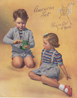 vintage boys and girls childrens knitting patterns