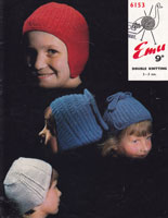 vintage hats pattern for kids
