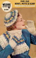 fair isle hat knitting patterns