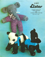 vintage teddy and toy patterns