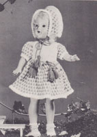 vintage dolls knitting patterns 1950s