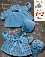 vintage baby knitting patterns