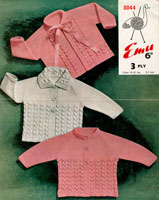 matinee jacket vintage baby knitting patterns