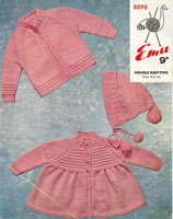 vintage baby pattern for matinee jacket