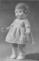 vintage doll knnitting patterns