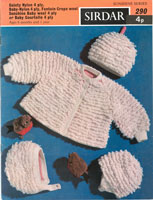 vintage baby loopy jacket knitting pattern