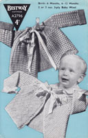 vintage baby bestway 1940s knitting patterns matinee coats knitting patterns
