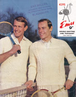 vintage cricket jumper knitting pattern1960s
